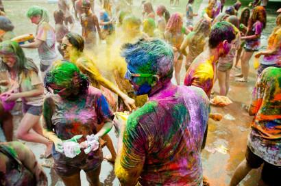 Holi Festival,gwu