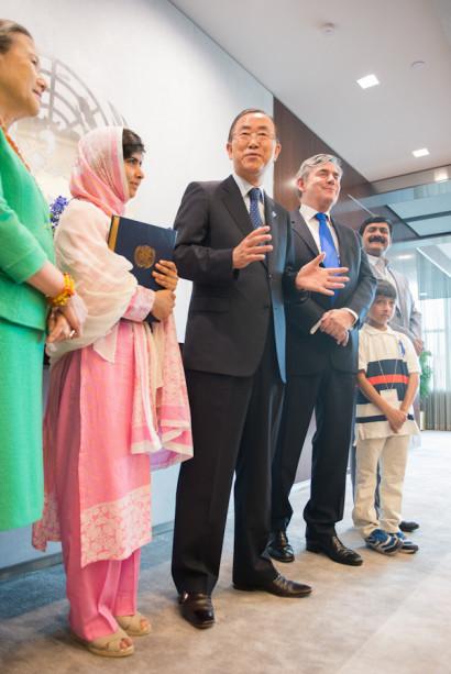 Malala,United Nations